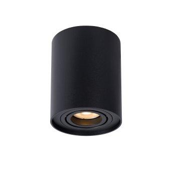 Spot de plafond Lucide TUBE Noir, 1 lumière