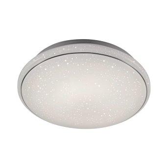 Plafonnier Leuchten Direkt Ls-JUPI LED Blanc, 1 lumière, Télécommandes, Changeur de couleurs