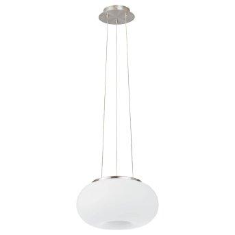 Suspension EGLO connect OPTICA-C LED Nickel mat, 1 lumière, Changeur de couleurs