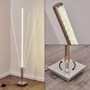 Lampadaire Lovrup LED Acier inoxydable, 1 lumière