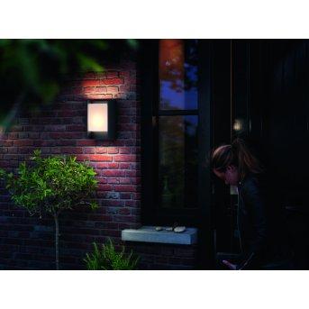 Applique murale Philips myGarden ARBOUR LED Gris, 1 lumière