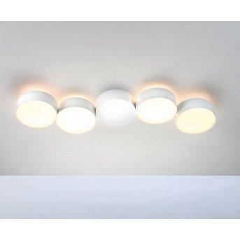 Plafonnier Bopp TOUCH LED Blanc, 4 lumières