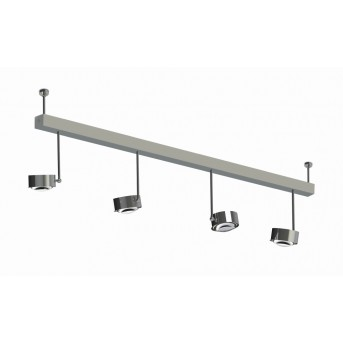 Puk Maxx Choice Side + 125 cm Chrome, 8 lumières
