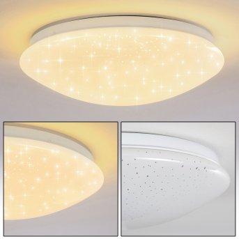 Plafonnier Norton Star LED Blanc, 1 lumière