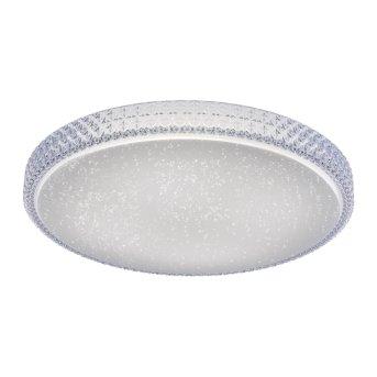 Plafonnier Leuchten Direkt Ls-FRIDA LED Transparent, 1 lumière, Télécommandes, Changeur de couleurs