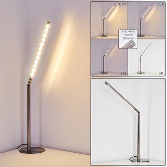 Lampe à poser Deje LED Nickel mat, 1 lumière
