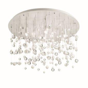 Plafonnier Ideal Lux NEVE Blanc, 12 lumières