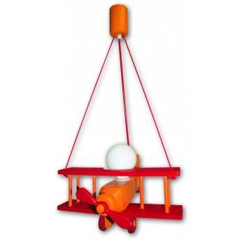 Suspension Waldi Flugzeug Orange, 1 lumière