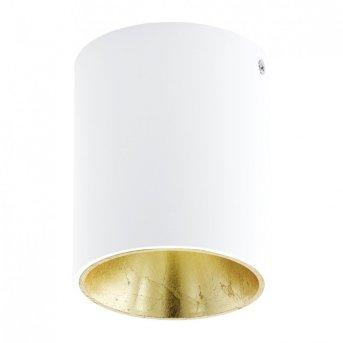 Plafonnier Eglo POLASSO LED Blanc, Or, 1 lumière