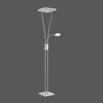 Lampadaire Leuchten Direkt HELIA LED Acier inoxydable, 1 lumière