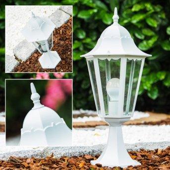 Borne lumineuse blanche Blanc, 1 lumière
