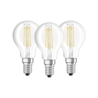 Lot de 3 Osram LED E14 4 Watt 4000 Kelvin 470 Lumen