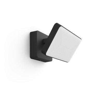 Projecteur Philips Hue Ambiance White & Color Discover LED Noir, 1 lumière, Changeur de couleurs