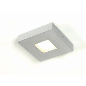 Plafonnier Bopp Cubus LED Aluminium, 1 lumière