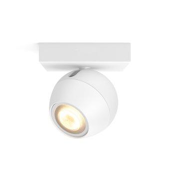 Spot, kit d'extension Philips Hue Ambiance White Buckram Blanc, 1 lumière