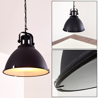 Suspension Jonsered Noir, 1 lumière