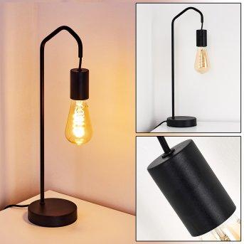 Lampe de table Cuyama Noir, 1 lumière