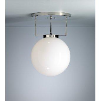 DMB 26 Tecnolumen Plafonnier Nickel brillant, 1 lumière