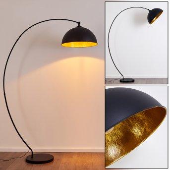 Lampadaire Miranda Noir, 1 lumière