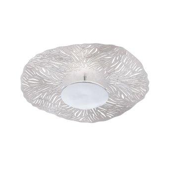 Plafonnier Fischer & Honsel Coral LED Chrome, 1 lumière