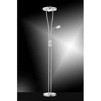 Lampadaire Leuchten-Direkt HELIA LED Acier inoxydable, 4 lumières