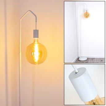 Lampadaire Cuyama Blanc, 1 lumière