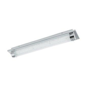 Plafonnier Eglo TOLORICO LED Chrome, Aspect cristal, 1 lumière