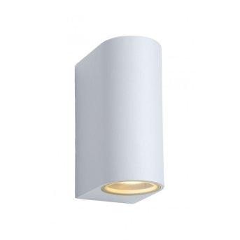 Applique Lucide ZORA LED Blanc, 2 lumières