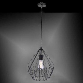 Lampe suspendue Leuchten Direkt SKELETTON Noir, 1 lumière