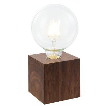 Lampe à poser Nino Leuchten LEONIE Bois foncé, 1 lumière