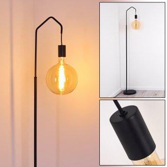 Lampadaire Cuyama Noir, 1 lumière