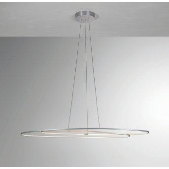 Suspension BOPP FLAIR LED Aluminium, 1 lumière