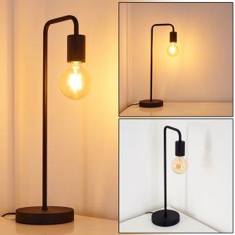 Lampe à poser Valocolla Noir, 1 lumière