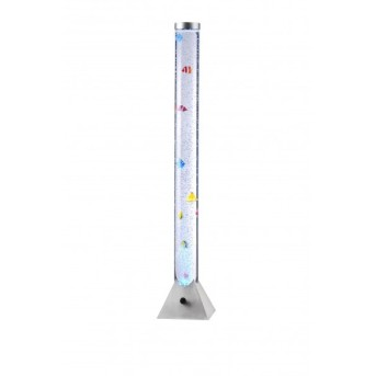 Colonne d 'eau Leuchten Direkt AVA LED Acier inoxydable, 1 lumière, Changeur de couleurs