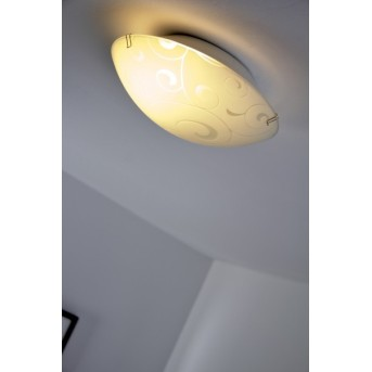 Plafonnier Globo BIKE Blanc, 1 lumière