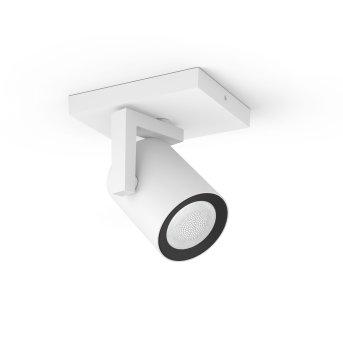 Spot pour plafond et mur, kit d'extension Philips Hue Ambiance White & Color Argenta Blanc, 1 lumière, Changeur de couleurs