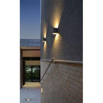 Applique murale Eco-Light DODD LED Anthracite, 2 lumières