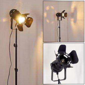 Lampadaire Lichinga Noir, 1 lumière