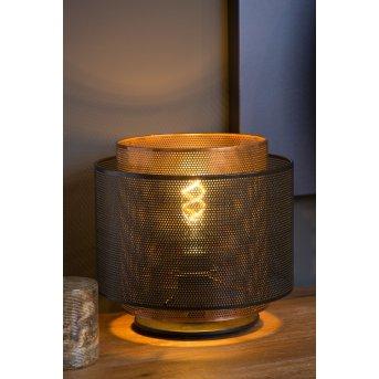 Lampe de table Lucide ORRIN Noir, 1 lumière