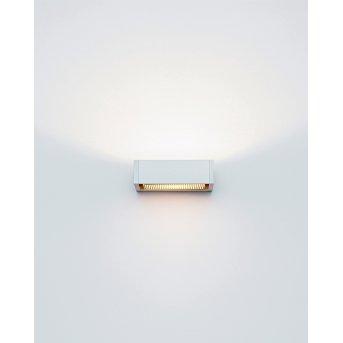 Applique murale Serien Lighting SML WALL S HAL Argenté, 1 lumière