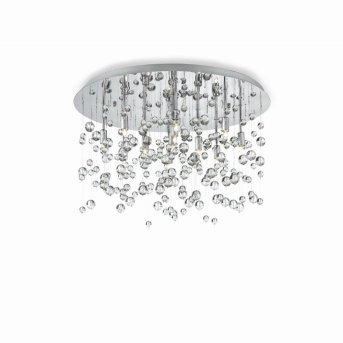 Plafonnier Ideal Lux NEVE Chrome, 8 lumières