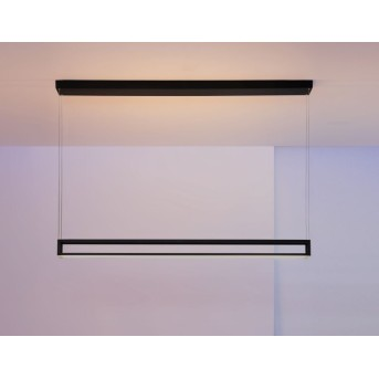 Suspension Escale Akio LED Noir, 2 lumières