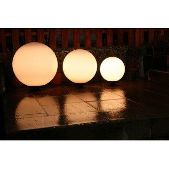 Set de boules lumineuses 30, 40 et 50 cm Blanc, 3 lumières