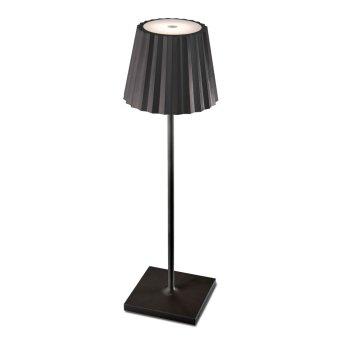 Lampe à poser Mantra K2 LED Noir, 1 lumière
