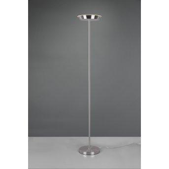 Lampadaire Reality Swona LED Nickel mat, 1 lumière