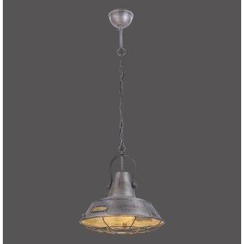 Plafonnier Leuchten-Direkt SAMIA Gris, 1 lumière