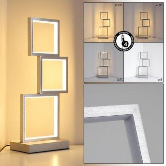 Lampe de table Bacolod LED Aluminium, 1 lumière