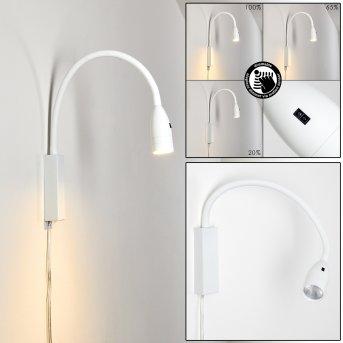 Lampe de chevet Alsea LED Blanc, 1 lumière, Détecteur de mouvement
