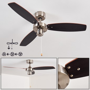 Ventilateurs de Plafond Fossa Nickel mat