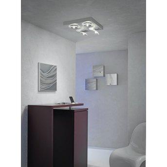 Plafonnier Escale SPOT IT LED Aluminium, 4 lumières
